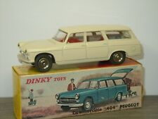 Peugeot 404 Commerciale - Dinky Toys 525 France in Box *42693