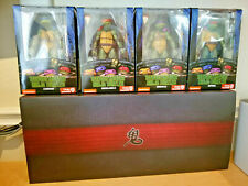 SDCC 2019 NECA TMNT Capture of Splinter & 90's Movie Game Stop Exclusive Turtles