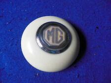 Original MG TD Steering Wheel Center Cap