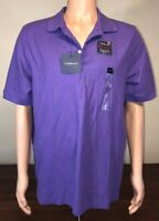 Croft & Barrow Purple Signature Pique Polo, Large L, NWT New!!