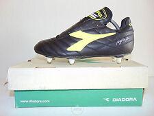 Vintage 80 90 DIADORA Goal RB SC 41 Scarpe Calcio 7.5 Baggio Boots Juve 6 Studs