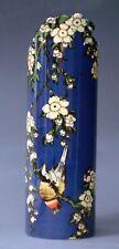 """Vaso da museo - """" Katsushika Hokusai - Fiori e Ciuffolotto """" - Designer - NUOVO"""
