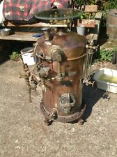More details for antique w m stills and sons ltd copper and brass boiler