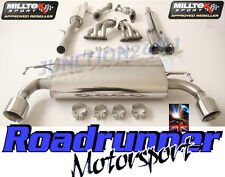 Milltek Golf R32 MK4 Exhaust Manifolds Decats & Cat Back Resonated System GT100
