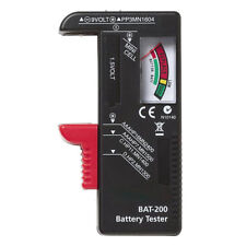 Hot Indicator Universal Battery Cell Tester AA AAA C/D 9V Volt Button Checker US