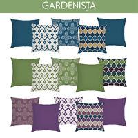 Designer Moroccan Prints Outdoor Cushion Cover Sets Garden Water Resistant