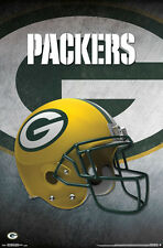 New GREEN BAY PACKERS Official Team Logo Helmet Design NFL WALL POSTER
