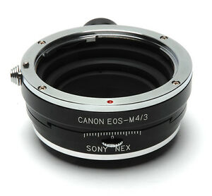 Canon EOS Lens PC Adapter For Sony NEX 7 Nex7r Nex6 Nex5