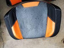 POLARIS RZR XP 1000, ASM-SEAT BOTTOM, BLK/ORANGE, 2686600