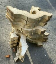 A Lot of 16 Vintage Antique Wooden Corbels - As Found