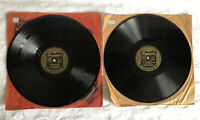 RARE 2x LEROY ANDERSON & HIS POPS ORCHESTRA 78 RPM Records 05005 & 05038 VGC