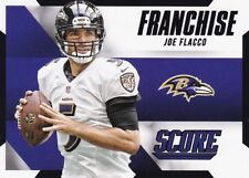 Joe Flacco 2015 Panini Score Football Sammelkarte , Franchise (Black)