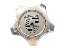 Genuine PORSCHE Cayenne Wheel Center Hub Cap Silver Aluminium 955361303039A1