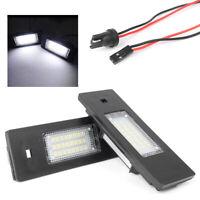 LED License Plate Lights for BMW E81 E87 E63 E64 E89 Z4 F20 F21
