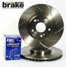 1.8 EBC Front USR Brake Discs /& Yellowstuff Pads Kit For Mazda Mx5 Mk2 NB 1.6