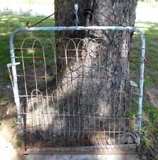 """Vintage Garden Yard Gate Twisted Wire Gate 64"""" x 38 1/2"""""""