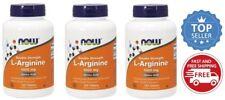 Now Foods - L-Arginine, 1000 mg - 3 Pack