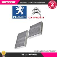 1609428180 Filtro abitacolo Citroen,Peugeot (MARCA-ORIGINALE,CITROEN-PEUGEOT)