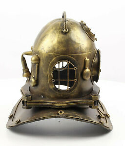 Nostalgia Model Divers Helmet Retro Tin Model Antik-Deko Maritime Deep Sea Diver