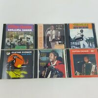 Clifton Chenier Lot of 6 CDs, The King of Zydeco (Creole, Cajun, Swamp Blues)