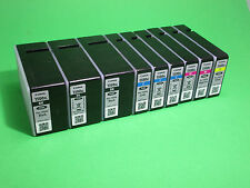 9x Canon pgi-1500xl BK, C, M, Y vuoto, cartuccia vuota, empty CANON INK CARTRIDGE