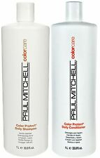 PAUL MITCHELL COLOUR CARE DAILY SHAMPOO AND CONDITIONER 1 LITRE FREE SHIPPING