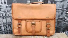 Retro/Vintage Real Leather Satchel/Laptop Bag