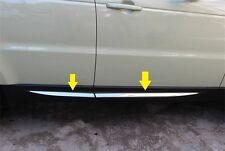 S.steel Bright Side Door Molding Trim Chrome Land Range Rover Sport 2014 2015 16