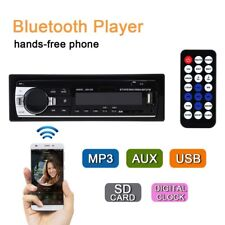 Car Radio Bluetooth Stereo Head Unit MP3/USB/SD/AUX-IN/FM In-dash Player 1DIN V2