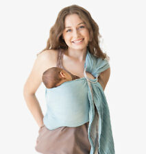 Mebien Baby Sling New Open box Teal & Gray