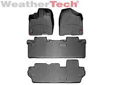 WeatherTech FloorLiner - Toyota Sienna - 8 Passenger - 2011-2012 - Black