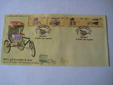 2017 India First Day Cover on Different types of Rickshaws - Limited Edition