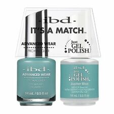 ibd It's A Match Advanced Wear Duo Just Gel & Polish Jupiter Blue  65382