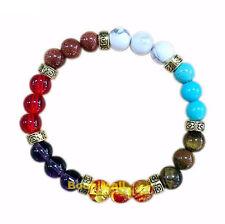 Colorful Multi-Stone Beaded Bracelet
