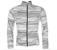 Puma Men's Sport Running Running Jacket White Black size M new with label