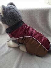Manteau imperméable pour chien taille 36 cm -Bordeaux brun -Neuf