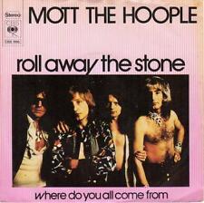 MOTT THE HOOPLE/ IAN HUNTER Roll Away The Stone 1973 or. HOLLAND 45 MISPRINT!!