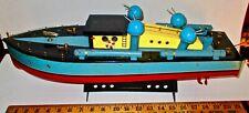 """Vintage 21"""" Ito- Patrol Torpedo (Pt) Boat- Dual Motor-Good Original Condition"""