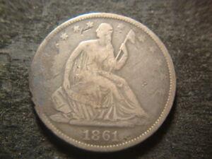 1861-O  Seated Liberty Half Dollar Confederate Issue T2X