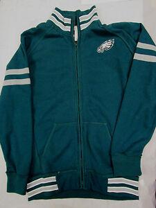 NFL Team Apparel Men's Medium Philadelphia Eagles Zip Up Jacket NEW