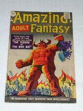 AMAZING ADULT FANTASY #9 VG (4.0) MARVEL COMICS FEBRUARY 1962 DITKO (SA)**