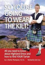 Highland Dress Guide Book FIND YOUR TARTAN Paperback 9781852171261 Kilt Scotland