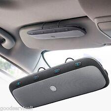 Wireless Bluetooth Handsfree Multipoint Car Kit Speakerphone Sun Visor Universal