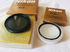 Nikon filter 62mm set Circular Pol and Soft 1