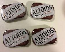 New 4 pack Altoids Smalls Sugar free mints 200 pc Peppermint Choose