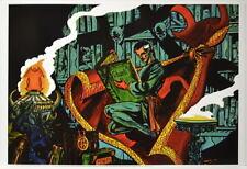 DR STRANGE Studying Book VISHANTI  Pin Up Poster Marvel