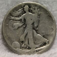1921D walking liberty half dollar