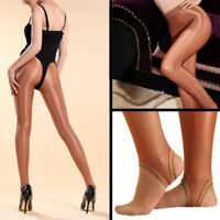 100D Glossy Super Shiny Stirrup Pantyhose Professional Dance Stockings Tights