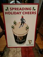 "Guinness Tin Wall Tacker Beer Sign. 20 X 14"" New"