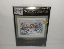 "NOS 2005 Dimensions The Gold Collection ""Winter Memories"" Cross Stitch Kit 35155"
